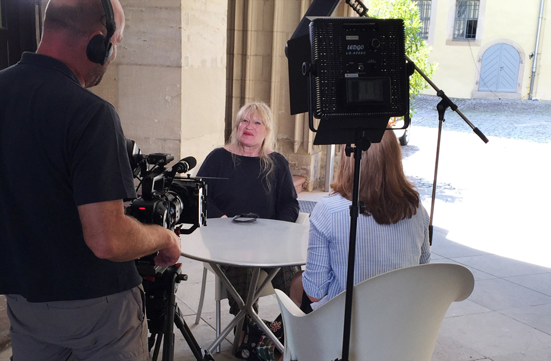 Martine Neubrand im Interview iTV-Coburg