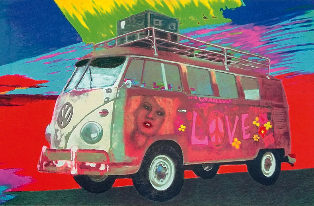 James Francis Gill - Hippie-Bus