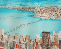 Gottfried-Salzmann--NEW-YORK-BROOKLYN-BRIDGE--Radierung-26x32-38x44cm.jpg