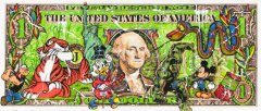 Robert-Sgarra--DOLLAR-WASHINGTON--Ciclee-uebermalt--100x200cmDollar_Washington_200x100_Semiunikat.jpg